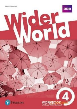 Wider World 4 Workbook  + Online Homework - фото книги