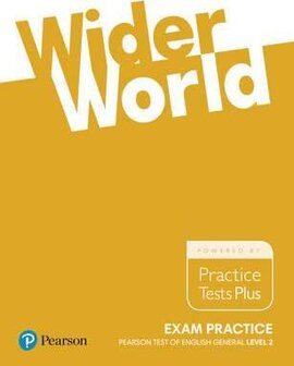 Wider World Exam Practice: Pearson Tests of English General Level 2 (B1) - фото книги