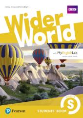 Wider World Starter Student's Book with MyEnglishLab - фото обкладинки книги