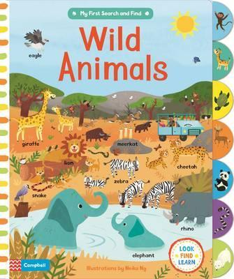 Книга Wild Animals