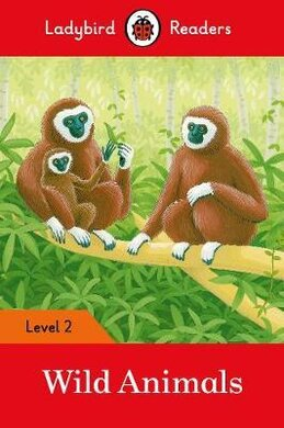 Wild Animals Activity Book - Ladybird Readers Level 2 - фото книги