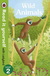 Wild Animals - Read it yourself with Ladybird: Level 2 (non-fiction) - фото обкладинки книги