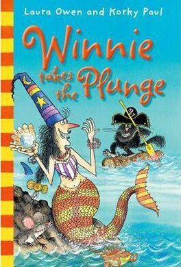 Winnie Takes the Plunge - фото книги