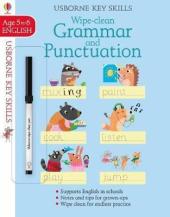 Wipe Clean Grammar And Punctuation. Age 5-6 - фото обкладинки книги