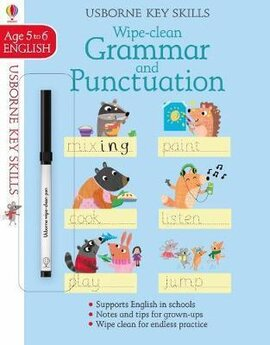 Wipe Clean Grammar And Punctuation. Age 5-6 - фото книги