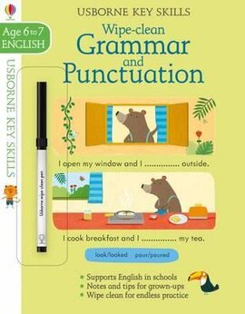 Wipe Clean Grammar And Punctuation. Age 6-7 - фото книги