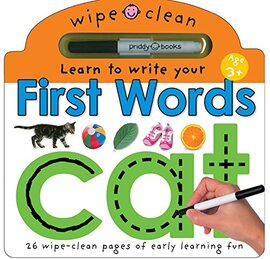 Wipe Clean Learning: First Words - фото книги