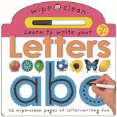 Wipe Clean Learning: Letters - фото обкладинки книги