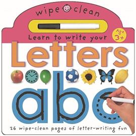 Wipe Clean Learning: Letters - фото книги