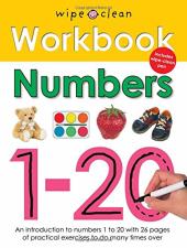 Wipe Clean Learning: Numbers - фото обкладинки книги