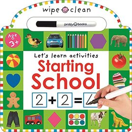 Wipe Clean Learning: Starting School - фото книги