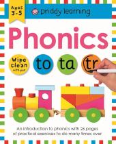 Wipe-Clean Workbook: Phonics - фото обкладинки книги