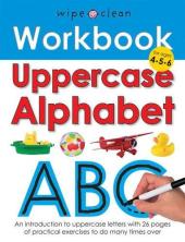Wipe-Clean Workbook: Uppercase Alphabet - фото обкладинки книги