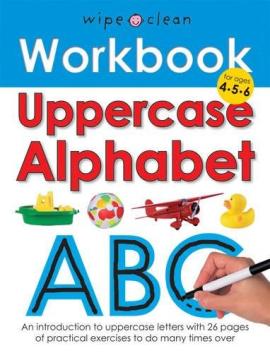 Wipe-Clean Workbook: Uppercase Alphabet - фото книги