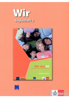 WIR 2 Begleitheft - фото книги