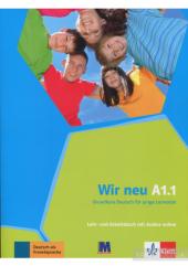 WIR neu A1.1 Lehr- und Arbeitsbuch mit Audio-CD - фото обкладинки книги