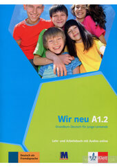 WIR neu A1.2 Lehr- und Arbeitsbuch mit Audio-CD - фото обкладинки книги