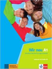 Wir neu A1 Lehrbuch mit audio-CD - фото обкладинки книги