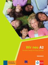 WIR neu A2 Arbeitsbuch - фото обкладинки книги
