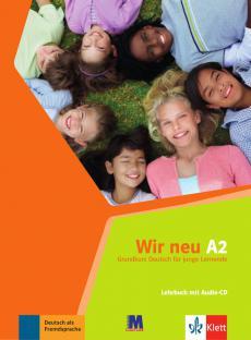 Підручник WIR neu A2 Lehrbuch mit Audio-CD