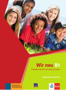 Wir neu B1 Lehrbuch mit audio-CD - фото книги