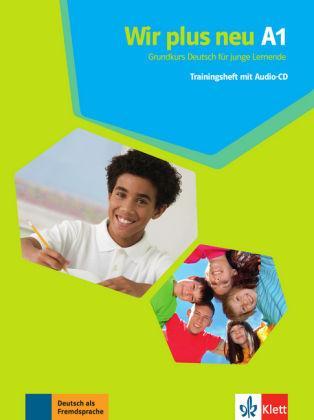Підручник Wir plus neu A1 Trainingsheft mit audio-CD