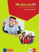 Книга Wir plus neu В1 Trainingsheft mit audio-CD