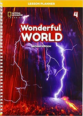 Wonderful World 4: Lesson Planner with Class Audio CD, DVD, and Teacher's Resource CDROM - фото книги