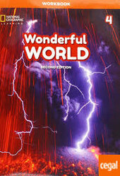 Wonderful World 4: Workbook - фото обкладинки книги