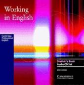 Working in English. Audio CD Set - фото обкладинки книги
