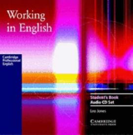 Working in English. Audio CD Set - фото книги