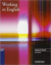 Working in English. Student's Book - фото обкладинки книги