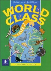 World Class Level 2 Students Book - фото обкладинки книги