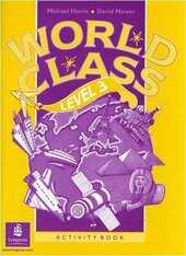 World Class Level 3 Activity Book - фото обкладинки книги