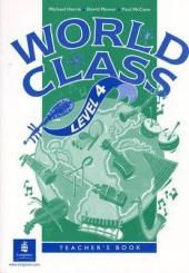 World Class Level 4 Teacher's Book - фото обкладинки книги