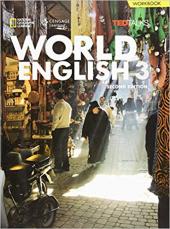 World English 3: Printed Workbook - фото обкладинки книги