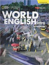World English Intro: Printed Workbook - фото обкладинки книги