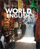World English with TED Talks 3 - Intermediate - Combo Split A with Online Workbook - фото обкладинки книги