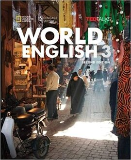 World English with TED Talks 3 - Intermediate - Combo Split A with Online Workbook - фото книги