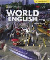 World English with TED Talks Intro - Teacher Book- Beginner - фото обкладинки книги