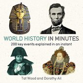 World History in Minutes - фото обкладинки книги