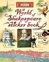 World of Shakespeare. Sticker Book - фото обкладинки книги