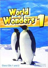 World Wonders 1. Class Audio CDs (набір із 2 аудіодисків) - фото обкладинки книги