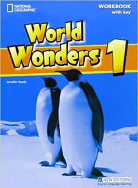 World Wonders 1. Workbook with overprint Key - фото книги