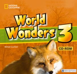 World Wonders 3. CD-ROM (інтерактивний комп'ютерний диск) - фото книги