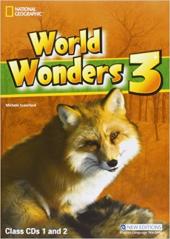 World Wonders 3. Class Audio CDs (набір із 2 аудіодисків) - фото обкладинки книги