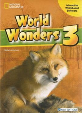 World Wonders 3. Interactive Whiteboard Software (програмне забезпечення для інтерактивної дошки) - фото книги