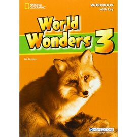 World Wonders 3. Workbook with overprint Key - фото книги