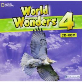 World Wonders 4. CD-ROM (інтерактивний комп'ютерний диск) - фото книги
