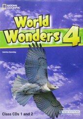 World Wonders 4. Class Audio CDs (набір із 2 аудіодисків) - фото обкладинки книги